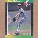 1989 Donruss Baseball Brian Holman RC Expos #511