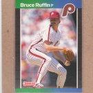 1989 Donruss Baseball Bruce Ruffin Phillies #515