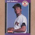1989 Donruss Baseball Jeff Sellers Red Sox #517