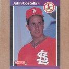 1989 Donruss Baseball John Costello Cardinals #518