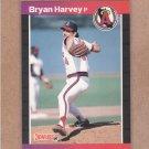 1989 Donruss Baseball Bryan Harvey RC Angels #525