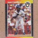 1989 Donruss Baseball Juan Castillo Brewers #530