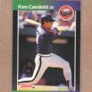 1989 Donruss Baseball Ken Caminiti Astros #542