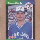 1989 Donruss Baseball Duane Ward Blue Jays #543