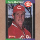 1989 Donruss Baseball Norm Charlton RC Reds #544