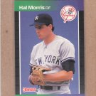 1989 Donruss Baseball Hal Morris RC Yankees #545