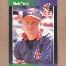 1989 Donruss Baseball Rich Yett Indians #546