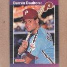 1989 Donruss Baseball Darren Daulton Phillies #549