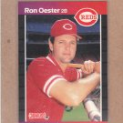 1989 Donruss Baseball Ron Oester Reds #553