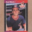 1989 Donruss Baseball Bud Black Indians #556