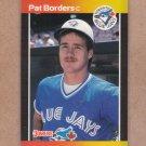 1989 Donruss Baseball Pat Borders RC Blue Jays #560