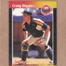 1989 Donruss Baseball Craig Biggio RC Astros #561