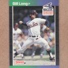 1989 Donruss Baseball Bill Long White Sox #573