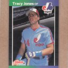 1989 Donruss Baseball Tracy Jones Expos #574
