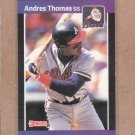 1989 Donruss Baseball Andres Thomas Braves #576