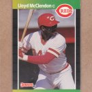 1989 Donruss Baseball Lloyd McClendon Reds #595