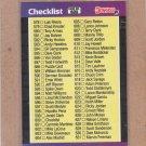 1989 Donruss Baseball Checklist #600