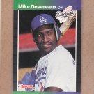 1989 Donruss Baseball Mike Devereaux Dodgers #603