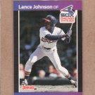 1989 Donruss Baseball Lance Johnson White Sox #606