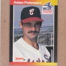 1989 Donruss Baseball Adam Peterson White Sox #619
