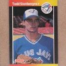 1989 Donruss Baseball Todd Stottlemyre Blue Jays #620