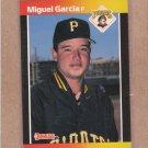 1989 Donruss Baseball Miguel Garcia Pirates #622