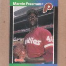 1989 Donruss Baseball Marvin Freeman Phillies #631