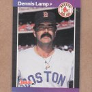 1989 Donruss Baseball Dennis Lamp Red Sox #633