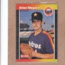1989 Donruss Baseball Brian Meyer Astros #640