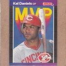 1989 Donruss Baseball MVP Kal Daniels #BC-18