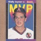1989 Donruss Baseball MVP Wally Joyner #BC-21