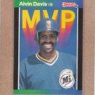 1989 Donruss Baseball MVP Alvin Davis #BC-25
