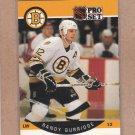 1990 Pro Set Hockey Randy Burridge Bruins #2