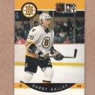 1990 Pro Set Hockey Garry Galley Bruins #7