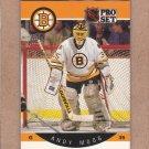 1990 Pro Set Hockey Andy Moog Bruins #10