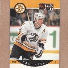 1990 Pro Set Hockey Cam Neely Bruins #11