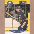 1990 Pro Set Hockey Scott Arniel Sabres #18