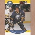 1990 Pro Set Hockey Mike Foligno Sabres #20