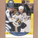1990 Pro Set Hockey Phil Housley Sabres #21