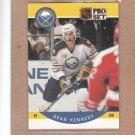 1990 Pro Set Hockey Dean Kennedy Sabres #22