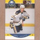 1990 Pro Set Hockey Uwe Krupp Sabres #23
