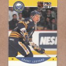 1990 Pro Set Hockey Grant Ledyard Sabres #24