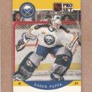 1990 Pro Set Hockey Daren Puppa Sabres #27