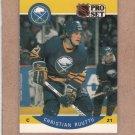 1990 Pro Set Hockey Christian Ruuttu Sabres #29