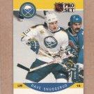 1990 Pro Set Hockey Dave Snuggerud Sabres #30