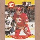 1990 Pro Set Hockey Brian MacLellan Flames #36