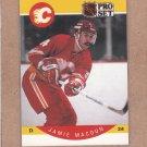1990 Pro Set Hockey Jamie Macoun Flames #37