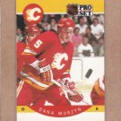 1990 Pro Set Hockey Dana Murzyn Flames #41