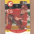 1990 Pro Set Hockey Gary Roberts Flames #45