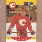 1990 Pro Set Hockey Gary Suter Flames #46